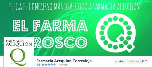 Farmacia Acequion redes sociales Torrevieja