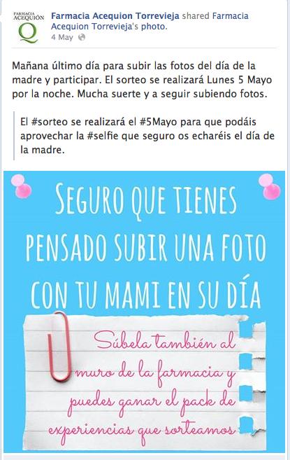 #SelfieFarmacia Selfie Farmacia