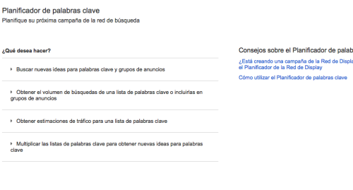 Google Adwords nombre