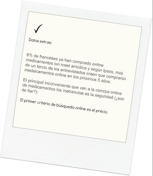 Ecommerce farmacia Francesa